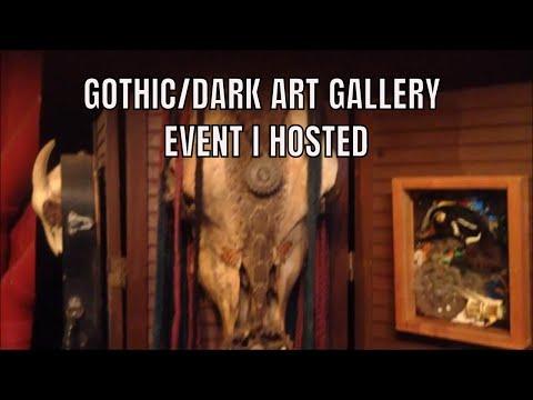 Broken Nightlights Art Show (Event I Hosted) - Goth Dark Art