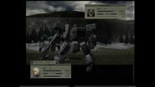 Front Mission 4 Walkthrough 03 - Durandal Simulation 01
