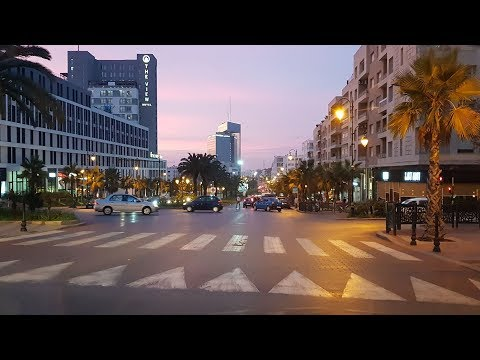 RABAT MOROCCO - جولة بشوارع مدينة الأنوار- الرباط