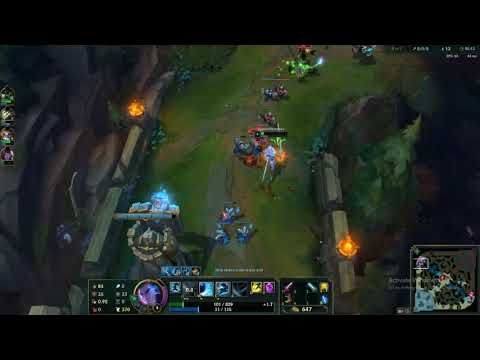 League Of Legends Battle Boss Yasuo Gameplay VS BOTS