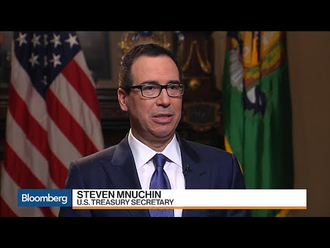 U.S. Treasury Secretary Mnuchin on Tax Reform, China, Fed