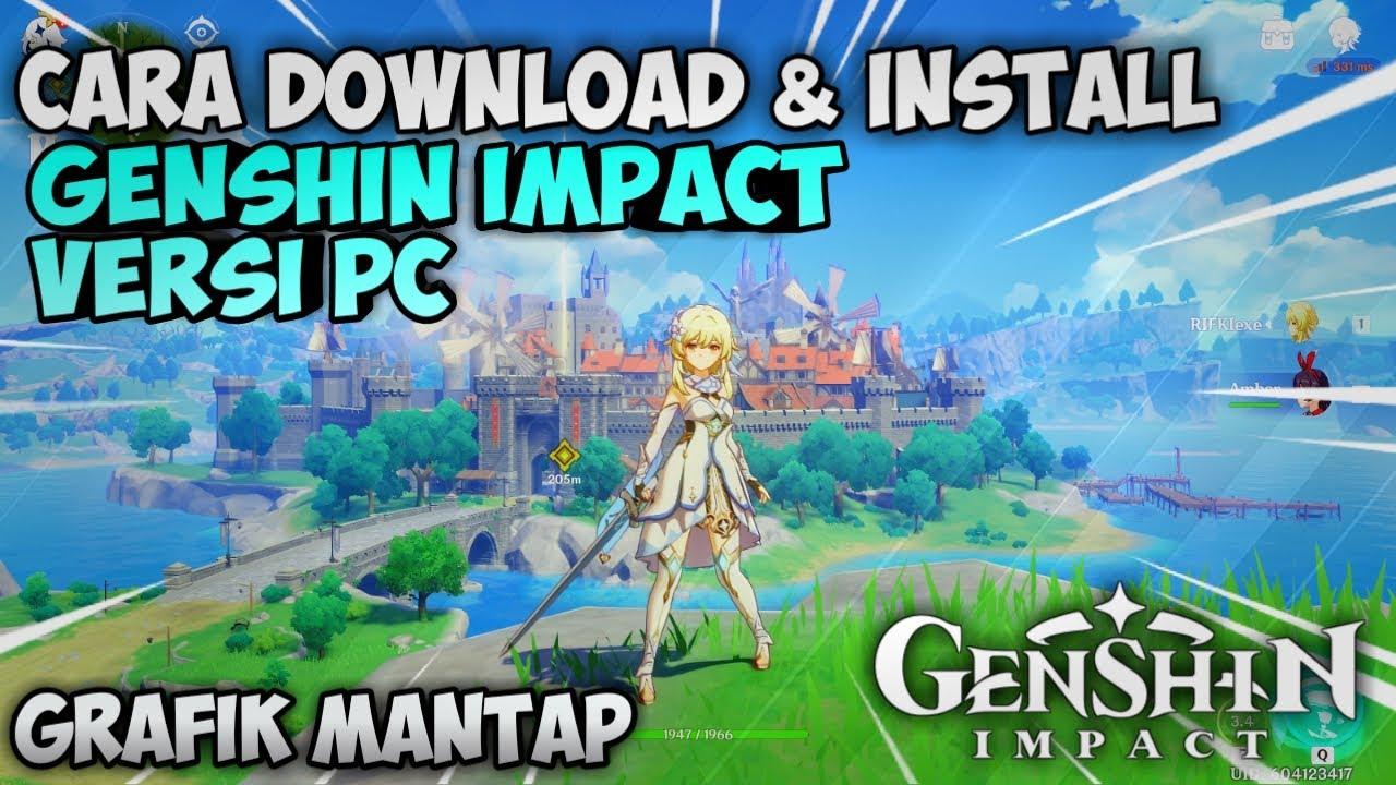 Cara Install Genshin Impact Di Pc Esportsku