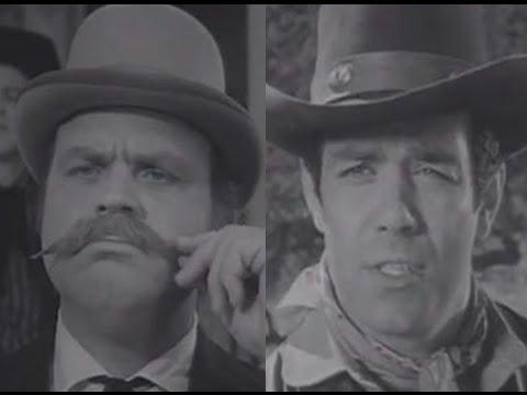 Pernell Roberts & Dan Blocker Working Together Before Bonanza– 1959