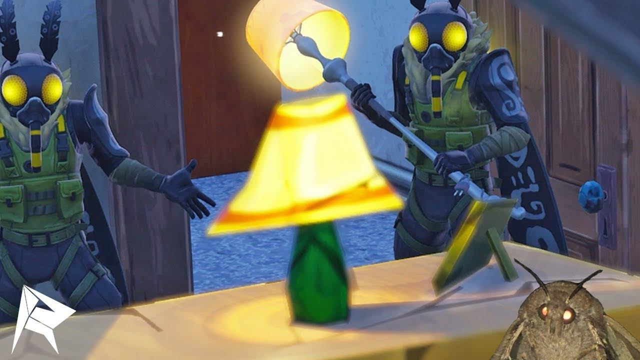 Is That A Lamp I See Fortnite Moth Skin Funny Moments