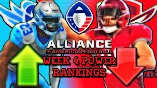 Alliance Of American Football Week 4 Power Rankings | AAF