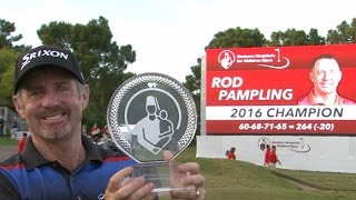 Highlights | Rod Pampling wins in dramatic fashion at Shriners