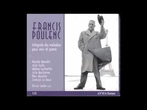Francis Poulenc: Le Bestiaire, Marc Boucher / Olivier Godin