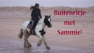 Strandritje met Sammie