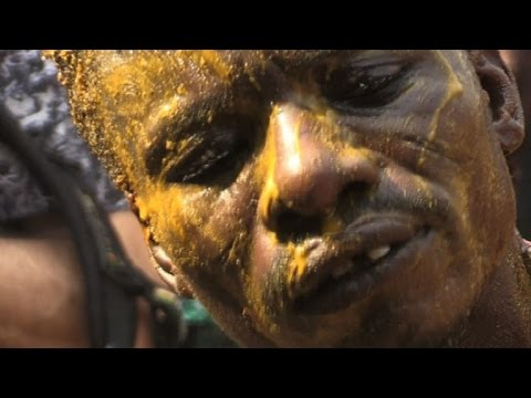 Descendants of slaves on a voodoo pilgrimage in Benin