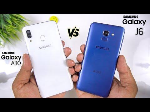 Samsung Galaxy A30 Vs Galaxy J6 Speed Test & Comparison [Urdu/Hindi]