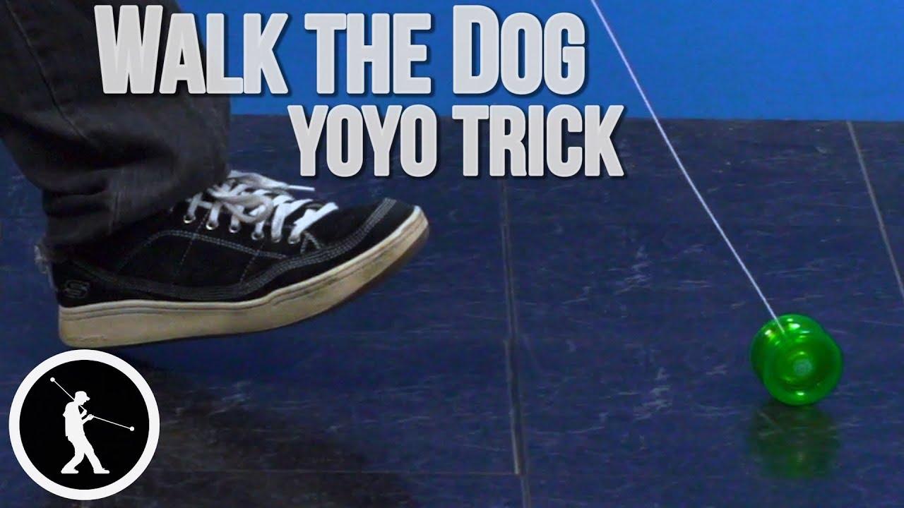 yoyo tricks walk the dog