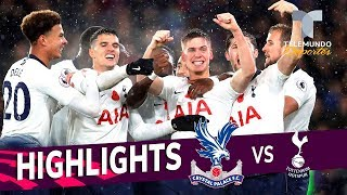 Crystal Palace vs. Tottenham: 0-1 Goals & Highlights | Premier League | Telemundo Deportes