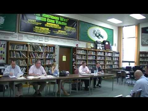NORTH SMITHFIELD SCHOOL COMMITTEE MEETING 5 25 16 001