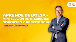 Aprende de Bolsa - Aprende de Trading - Niveles de Soporte y Resistencia Rubén López