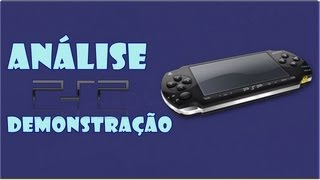 Análise PSP - PlayStation Portable Demonstração