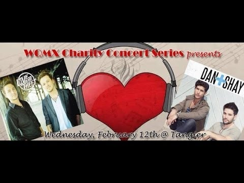 WQMX Charity Show: Love & Theft and Dan + Shay