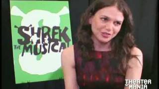 Sutton Foster and the Cast of Shrek The Musical Interviews