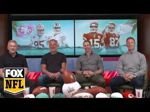 Super Bowl LIV Watch Party With Joe Montana, Brett Favre, & Drew Brees: 1st Half | FOX NFL