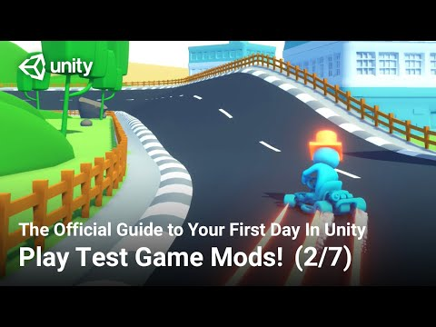 How to Play Test Game Mods (Official Unity Tutorial) thumbnail