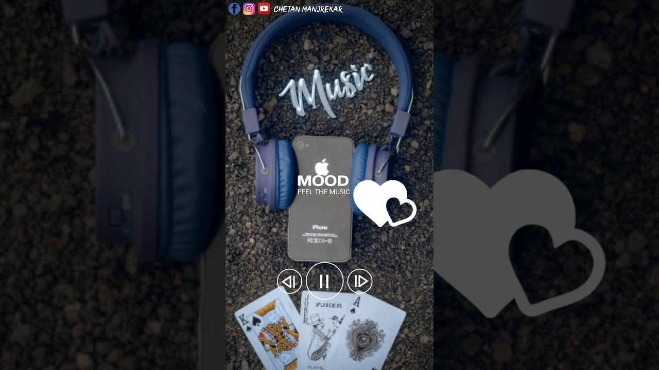 Download Feel The Music : Chupke se   C.M. Creation   Latest Trending WhatsApp status 2020  