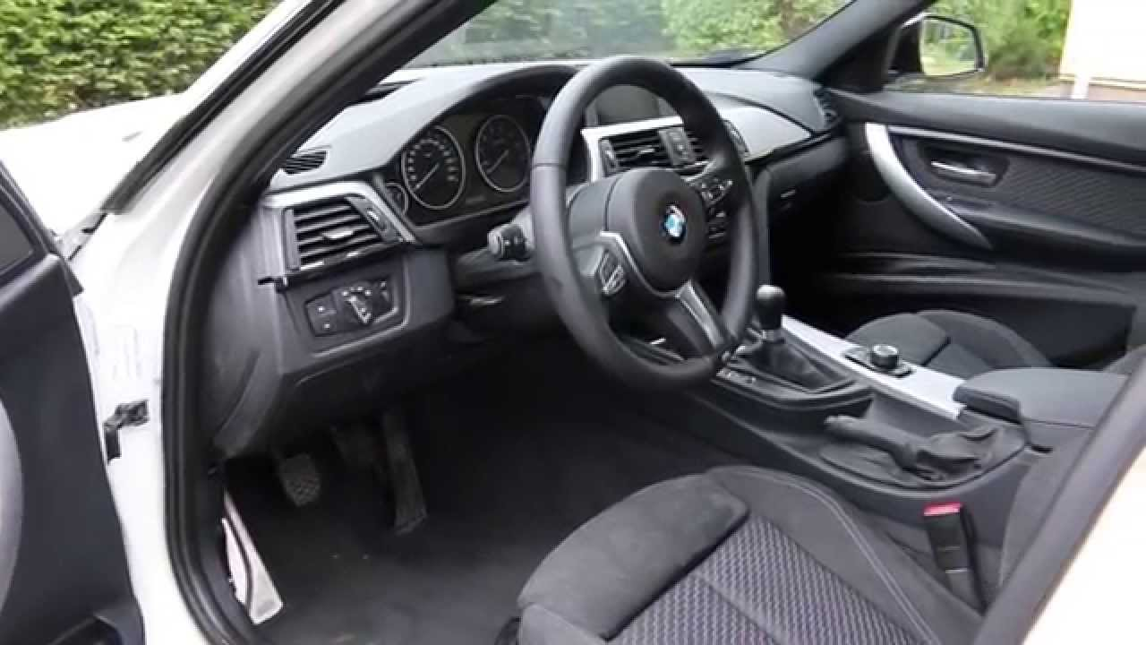 Bmw F31 M Sport 320i Interior 2 Youtube