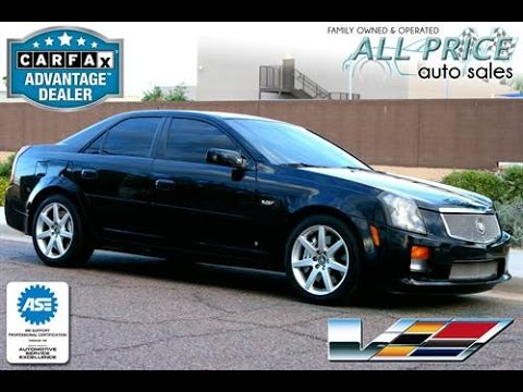 2006 Cadillac Cts V For Sale Phoenix Scottsdale Tempe Az 602 427