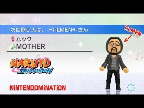Wii Karaoke U - Me singing *Naruto Shippuden* by MUCC: Mother