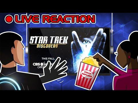 🔴 Star Trek: Discovery :: JEDI REACTS! LIVE (Tonight at 8:00)