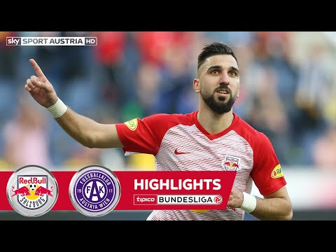 Highlights: tipico Bundesliga, 23. Runde: FC Red Bull Salzburg - FK Austria Wien 5:1