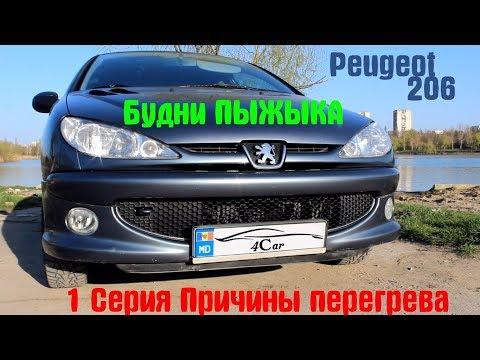Peugeot 206 1.4 16v.Причины перегрева Peugeot 206🔥