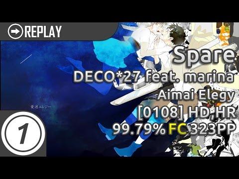 Spare | DECO*27 Feat. Marina - Aimai Elegy[0108] HDHR 99.79% FC 323pp