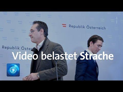Brisantes Video belastet Österreichs Vizekanzler Strache