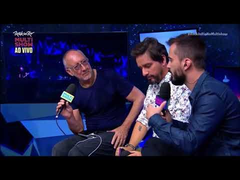 Pete Townshend (The Who) - Interview Brazilian Tv - Rock In Rio 2017