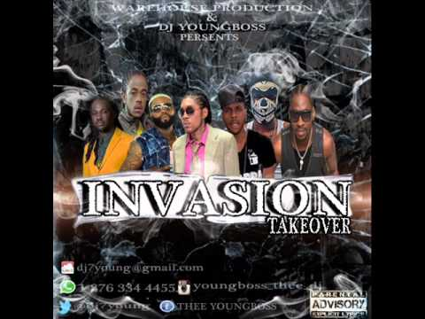 2016  FEBUARY CHAMPION INVASION Dancehall Mix kartel, movado, Alkaline, Bounty killa, (Dj young boss