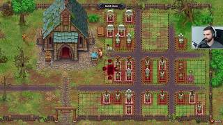 Graveyard Keeper #8 - Wino, trupy i rolnictwo