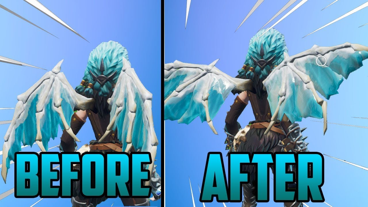 how to change the appearance of valkyrie wings pc ps4 xbox glitch fortnite - fortnite change appearance