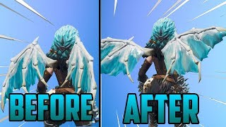 How to Change the Appearance of Valkyrie Wings | PC/PS4/Xbox (Glitch) - Fortnite