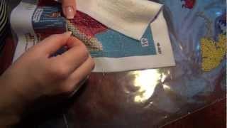 Вышивание бисером. Стежок.