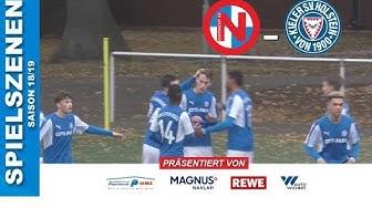 FC Eintracht Norderstedt U19 - Holstein Kiel U19 (9. Spieltag, A-Junioren Regionalliga Nord)