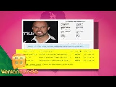 Esteban Loaiza detenido por posesión de drogas | Ventaneando