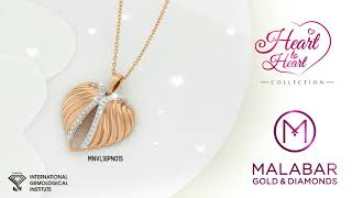 """""""Heart to Heart"""" jewellery collection from Malabar Gold & Diamonds."""