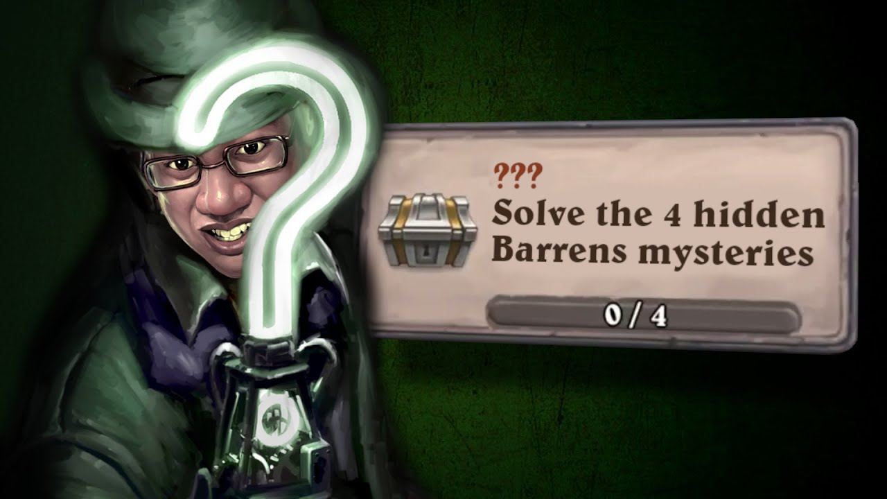 This Madman Tries to Solve the Barrens Mysteries Solo for 10 Hours