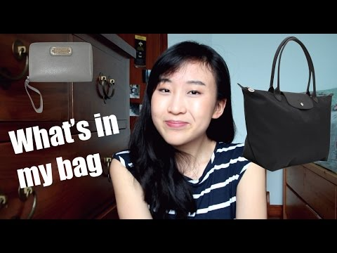 What's In My Bag! (Longchamp Le Pliage Neo Tote)