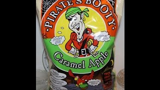 Pirate's Booty: Caramel Apple Corn Puffs Food Review