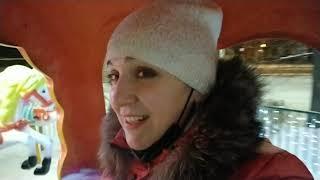VLOG: карусели в -20/каникулы/зимние развлечения