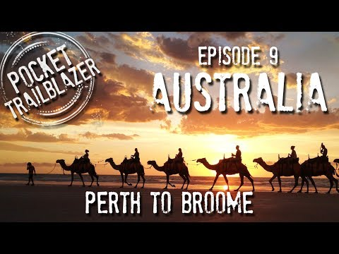 How to Backpack Australia Ep.9 : KARIJINI ADVENTURE - West Coast Perth to Broome