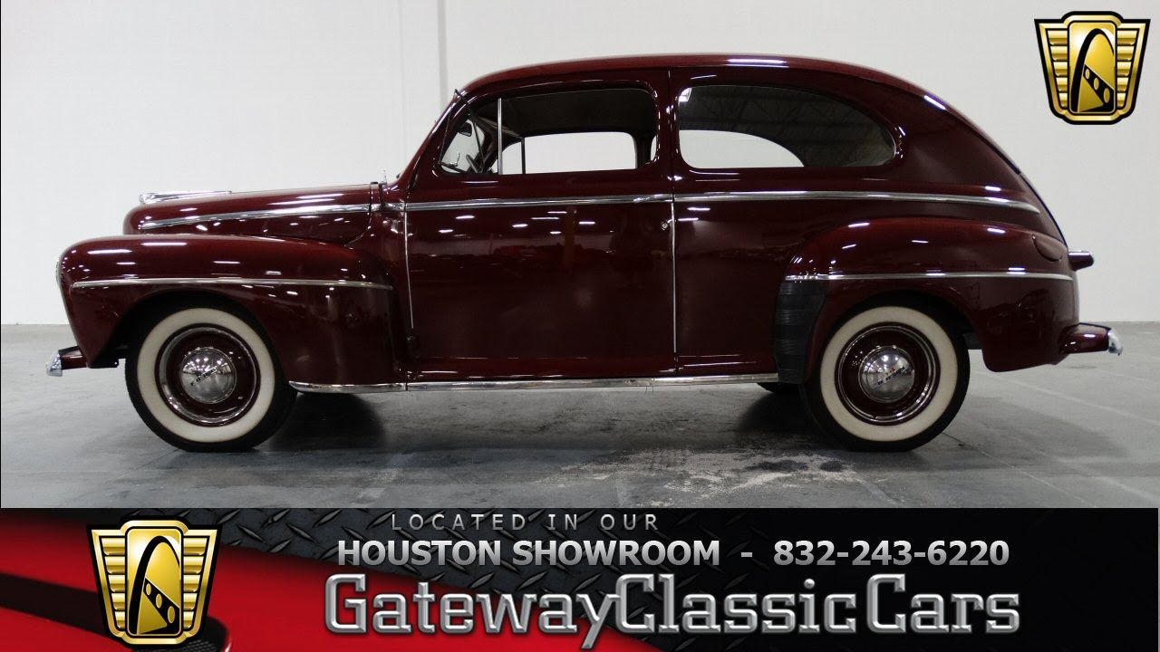 1947 Ford 2 Door Coupe Gateway Classic Cars Of Houston