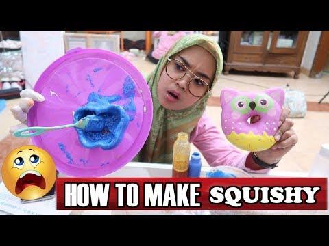 DIY SQUISHY - INI DIA CARA MEMBUAT SQUISHY....