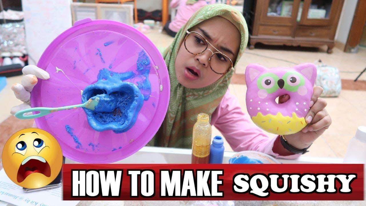 Diy Squishy Ini Dia Cara Membuat Squishy Youtube