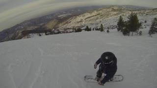 Встаём на сноуборд (Уроки инструктора)